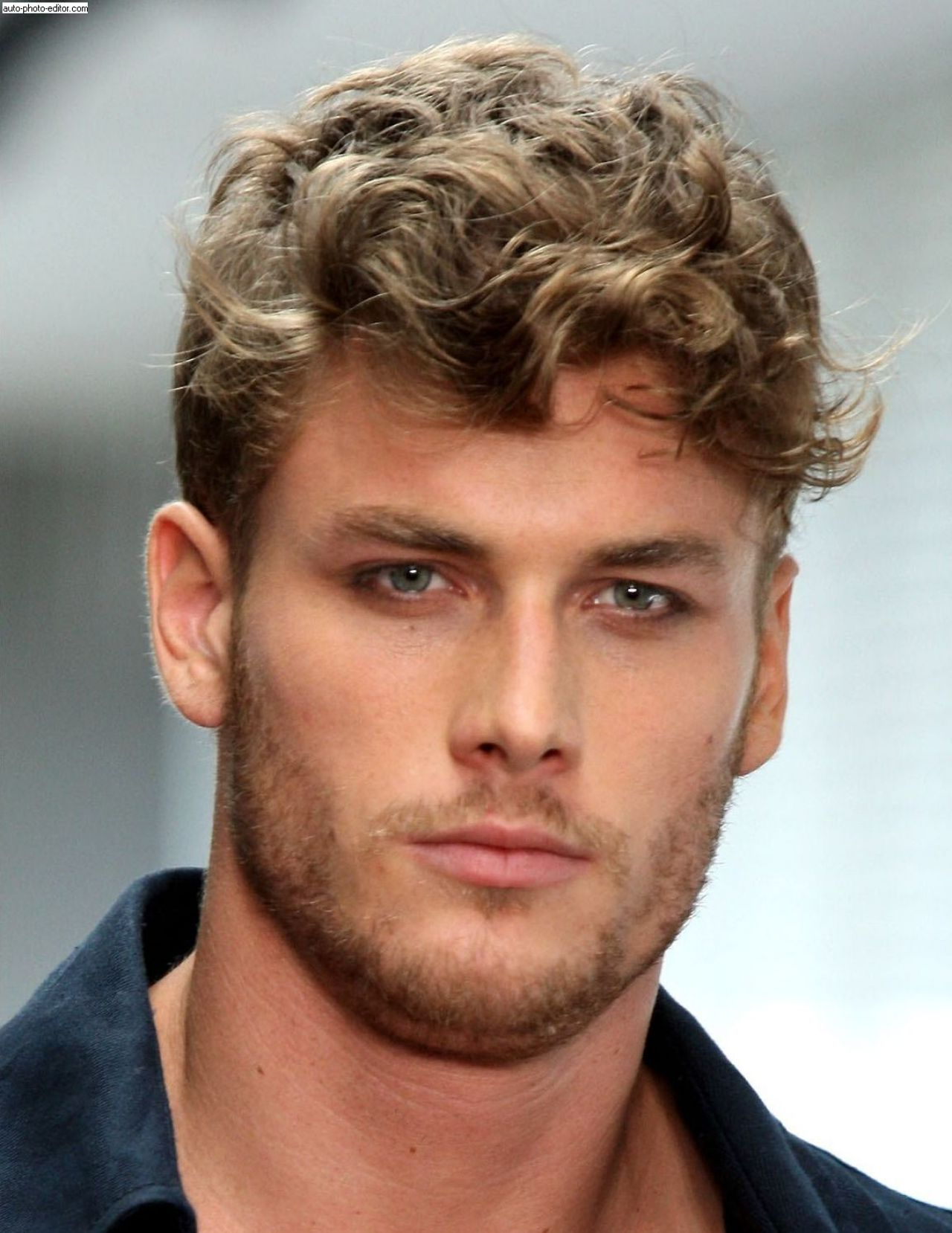 Curly Hairstyles Men | Hair And Hairstyles Pertaining To Dark Blonde Short Curly Hairstyles (View 17 of 20)