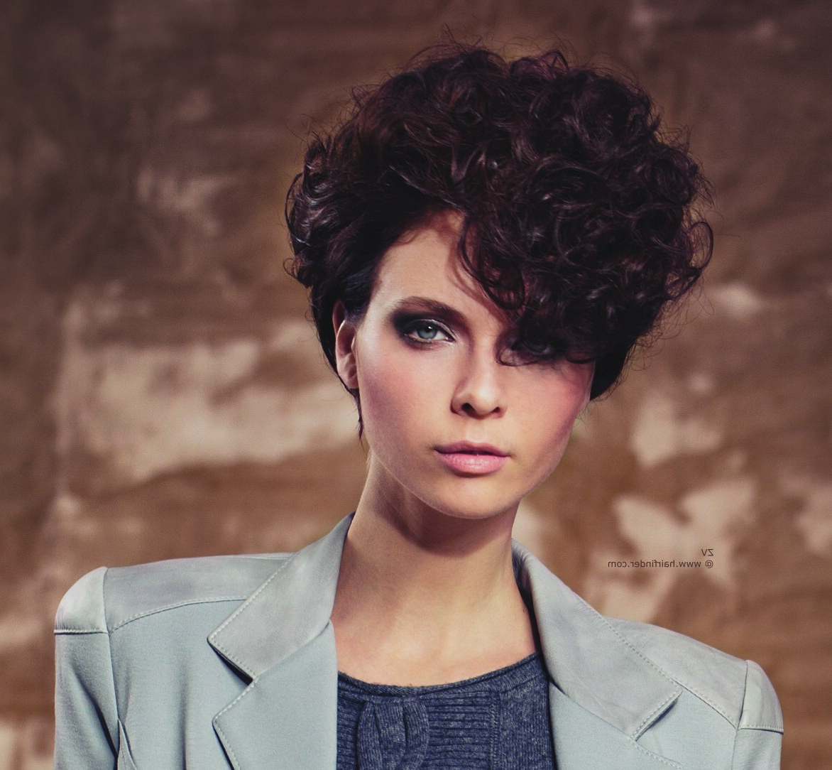 Curly Hairstyles : Messy Curly Short Hairstyles Curly Hairstyless Throughout Short Messy Curly Hairstyles (View 13 of 20)