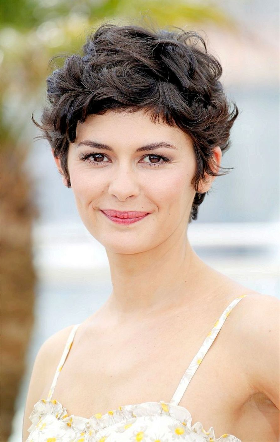 Curly Pixie Haircut | Hairstyles | Pinterest | Hair, Curly Hair In Pixie Haircuts With Short Thick Hair (View 9 of 20)