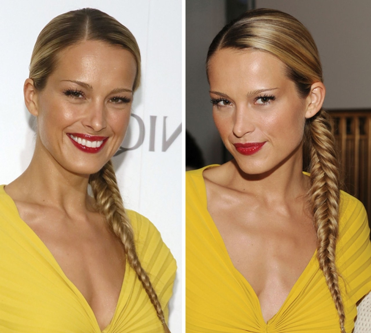 Current Fishtail Braid Ponytails In And Now Petra Nemcova Presents Us With A Picture Perfect Fishtail (View 4 of 20)