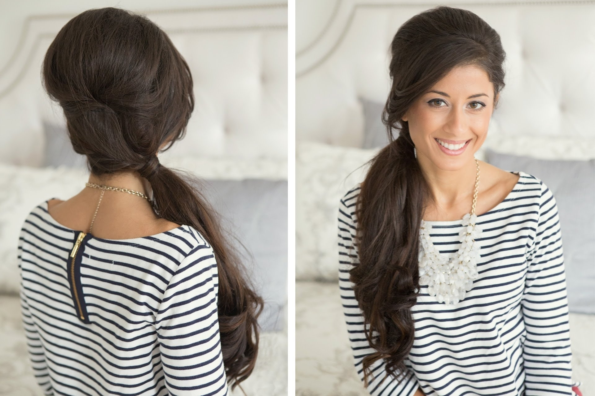 Current Pumped Up Side Pony Hairstyles In Easy Ponytail Hairstyles To Get A Chic Look  Khoobsurati (View 7 of 20)