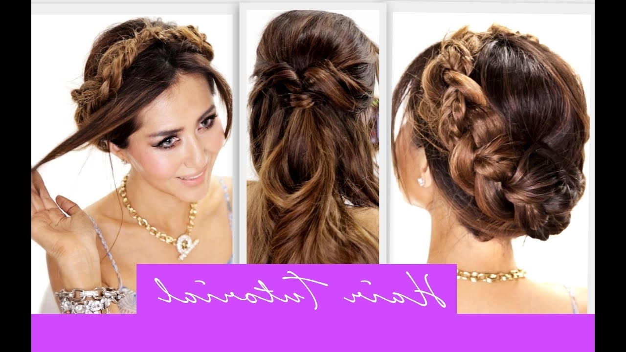 Cute Braids Hairstyle (View 7 of 20)