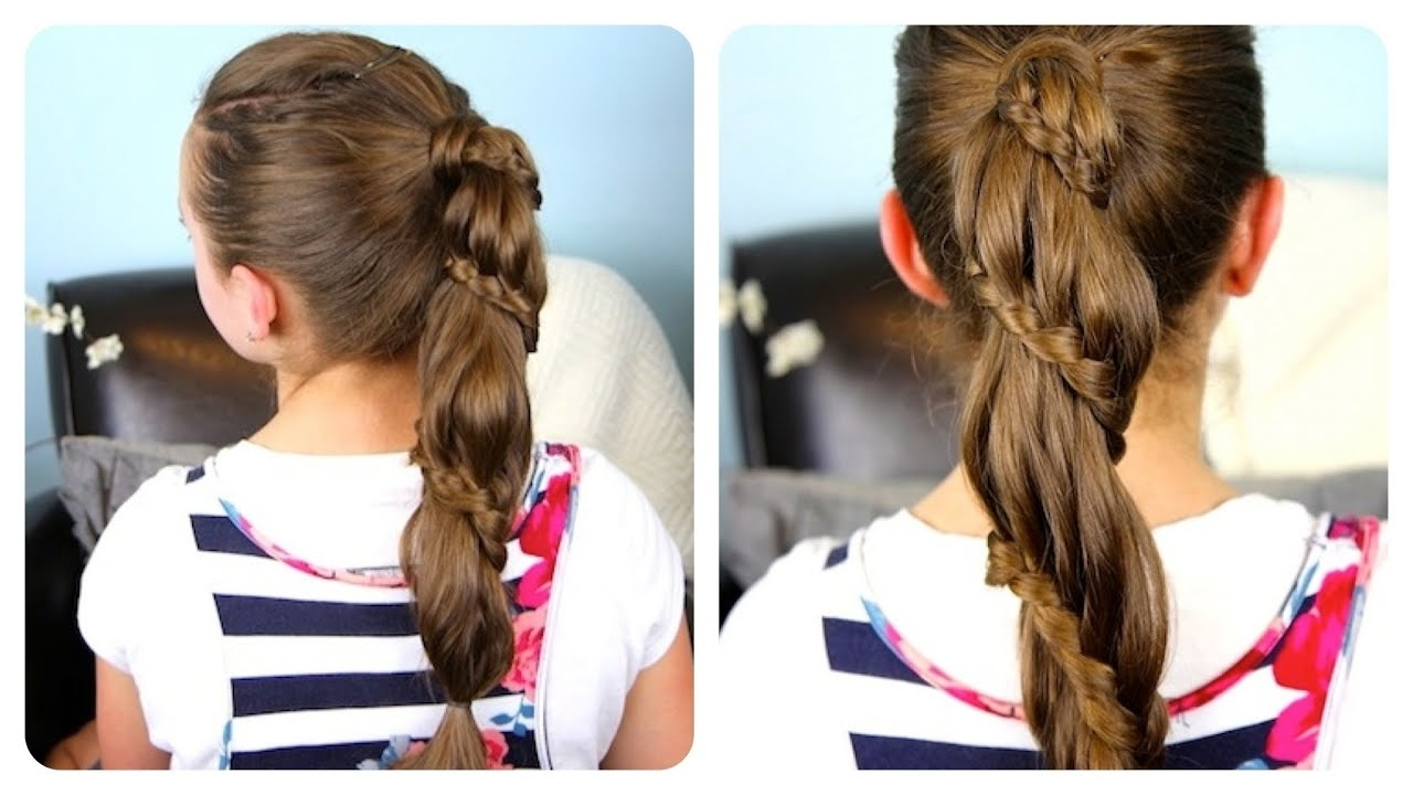 Cute Girls Hairstyles – Youtube (View 9 of 20)