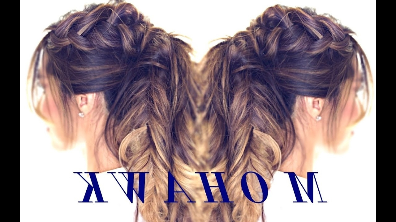 Cute Hairstyles For Medium Long Hair In Most Current Intricate And Adorable French Braid Ponytail Hairstyles (View 11 of 20)