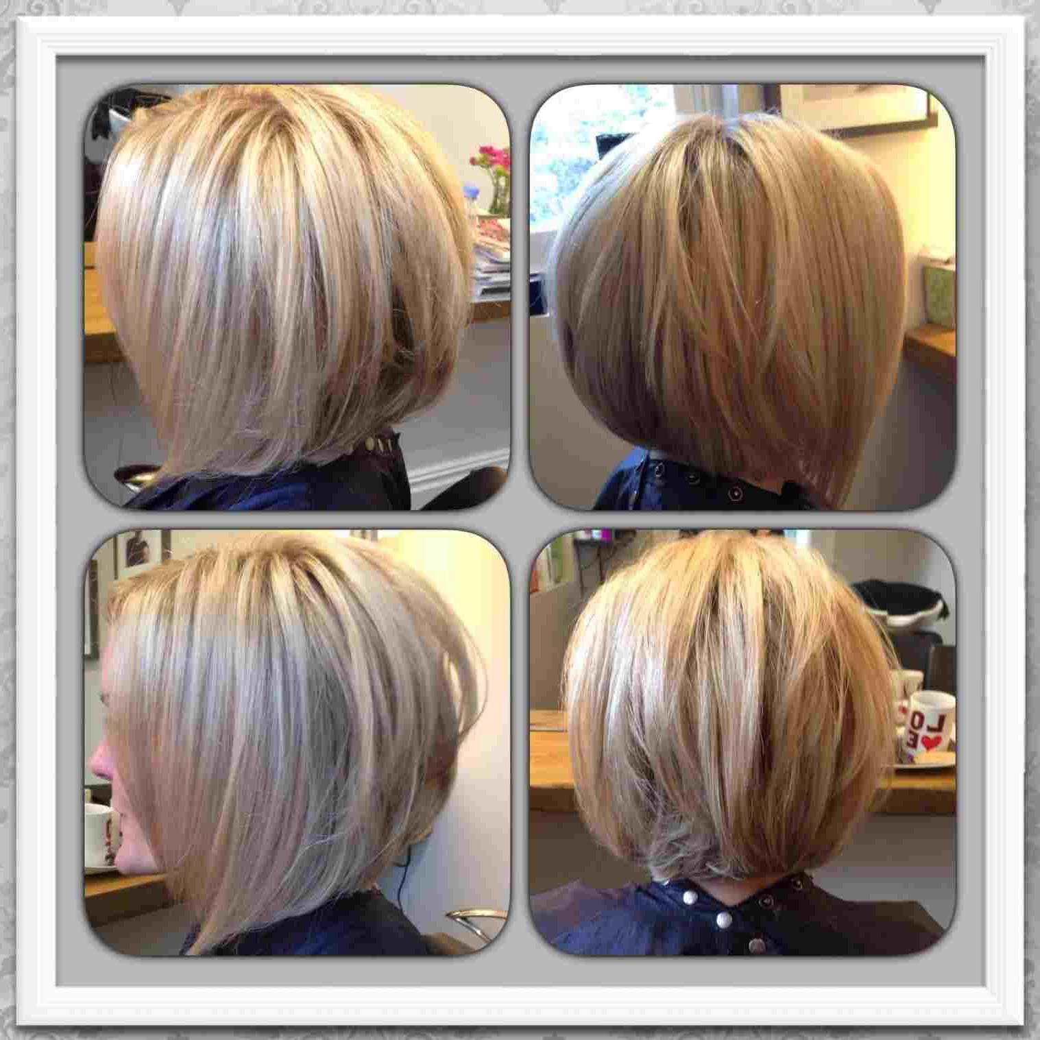 Distinguished Prev Next Cut Medium Line Into Long Hair Haircut Cut Pertaining To Butter Blonde A Line Bob Hairstyles (View 15 of 20)