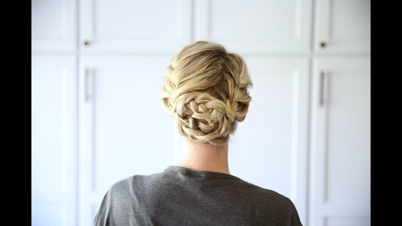 Double French Updo (View 10 of 20)