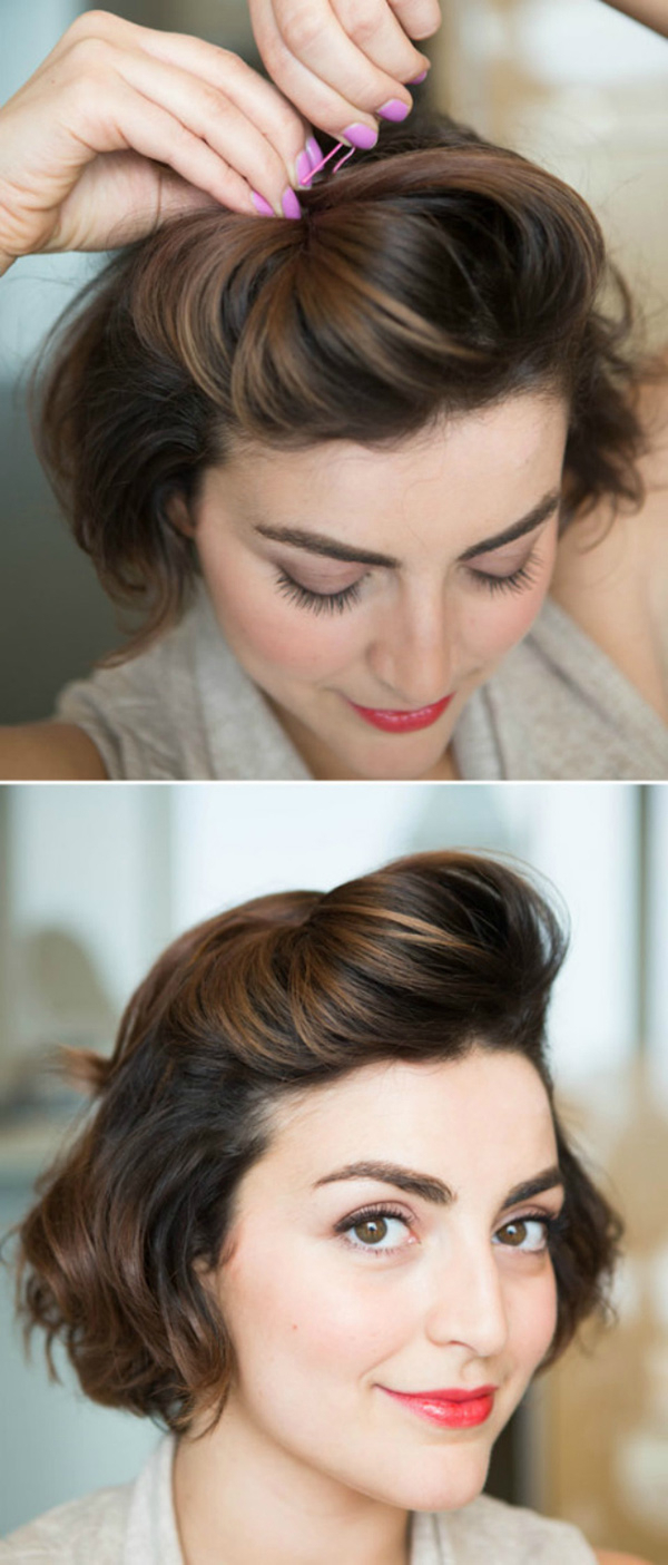 Easy Formal Hairstyles For Short Hair | Hairstyle Tutorials Throughout Short Formal Hairstyles (Gallery 3 of 20)