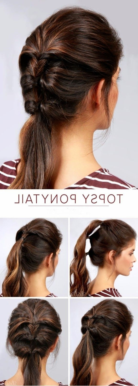 Easy Hairstyle, Hairstyle Ideas (View 4 of 20)