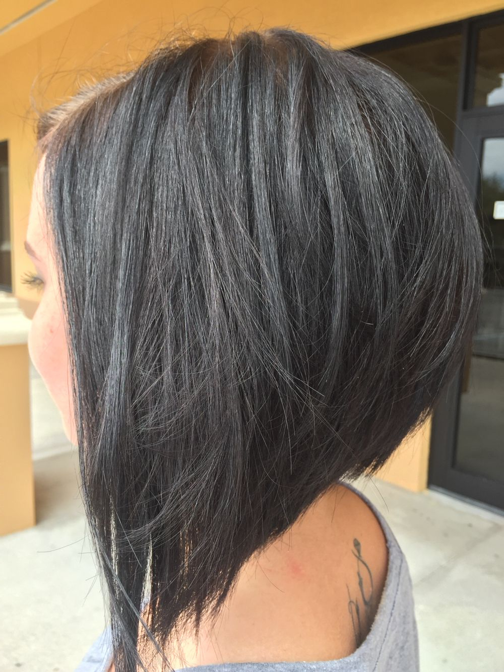 Edgy Bob | Hair In 2018 | Pinterest | Hair, Hair Styles And Hair Cuts Pertaining To Sleek Rounded Inverted Bob Hairstyles (View 11 of 20)