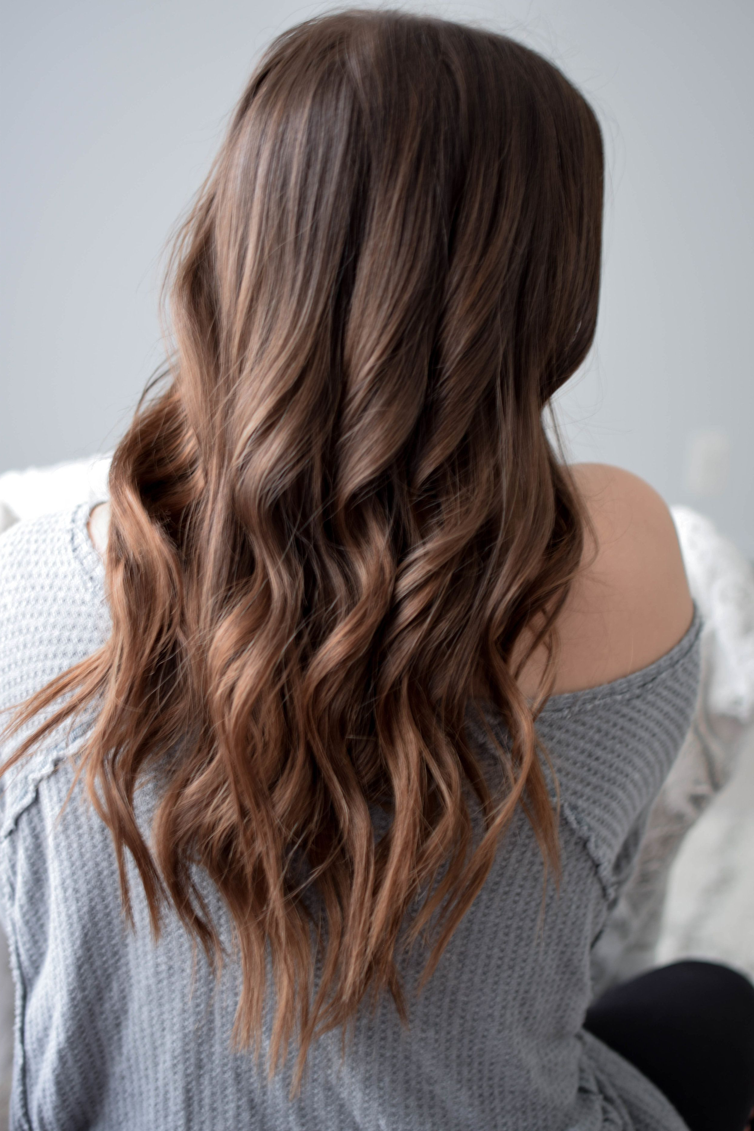 Every Day Waves Hair Tutorial In 2018 | My Blog Feed | Pinterest Throughout Loosely Waved Messy Brunette Bob Hairstyles (Gallery 2 of 20)