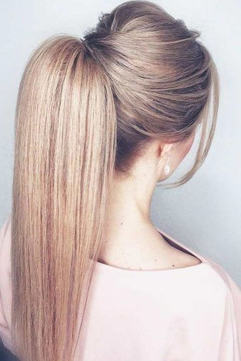 Famous Straight Triple Threat Ponytail Hairstyles With 135 Best Ponytail Hairstyles Images On Pinterest In (View 8 of 20)