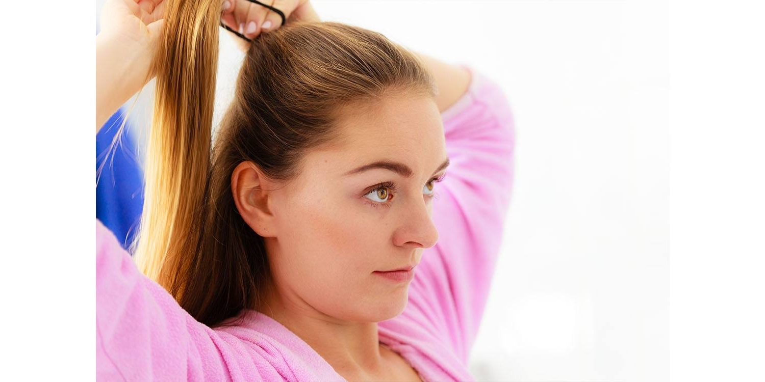 Famous Wrapped High Ponytails With Regard To Hair Hacks For Perky Ponytails (View 4 of 20)