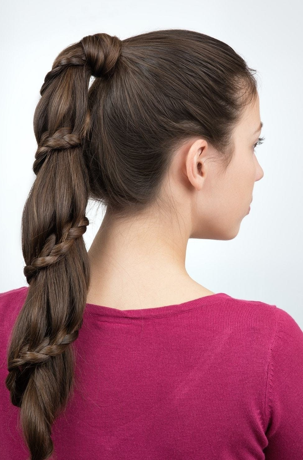 Fashionable Regal Braided Up Do Ponytail Hairstyles Regarding Long Hair Updos: 25 Styles That Are Fitting For Any Occasion (View 11 of 20)