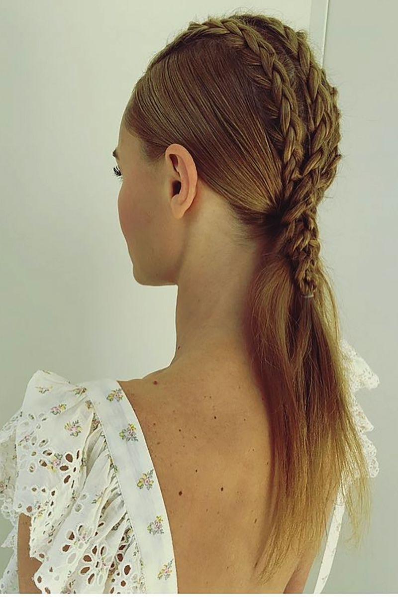 Favorite Faux Hawk Ponytail Hairstyles Pertaining To 12 Times The Ponytail Was Actually Groundbreaking (View 7 of 20)