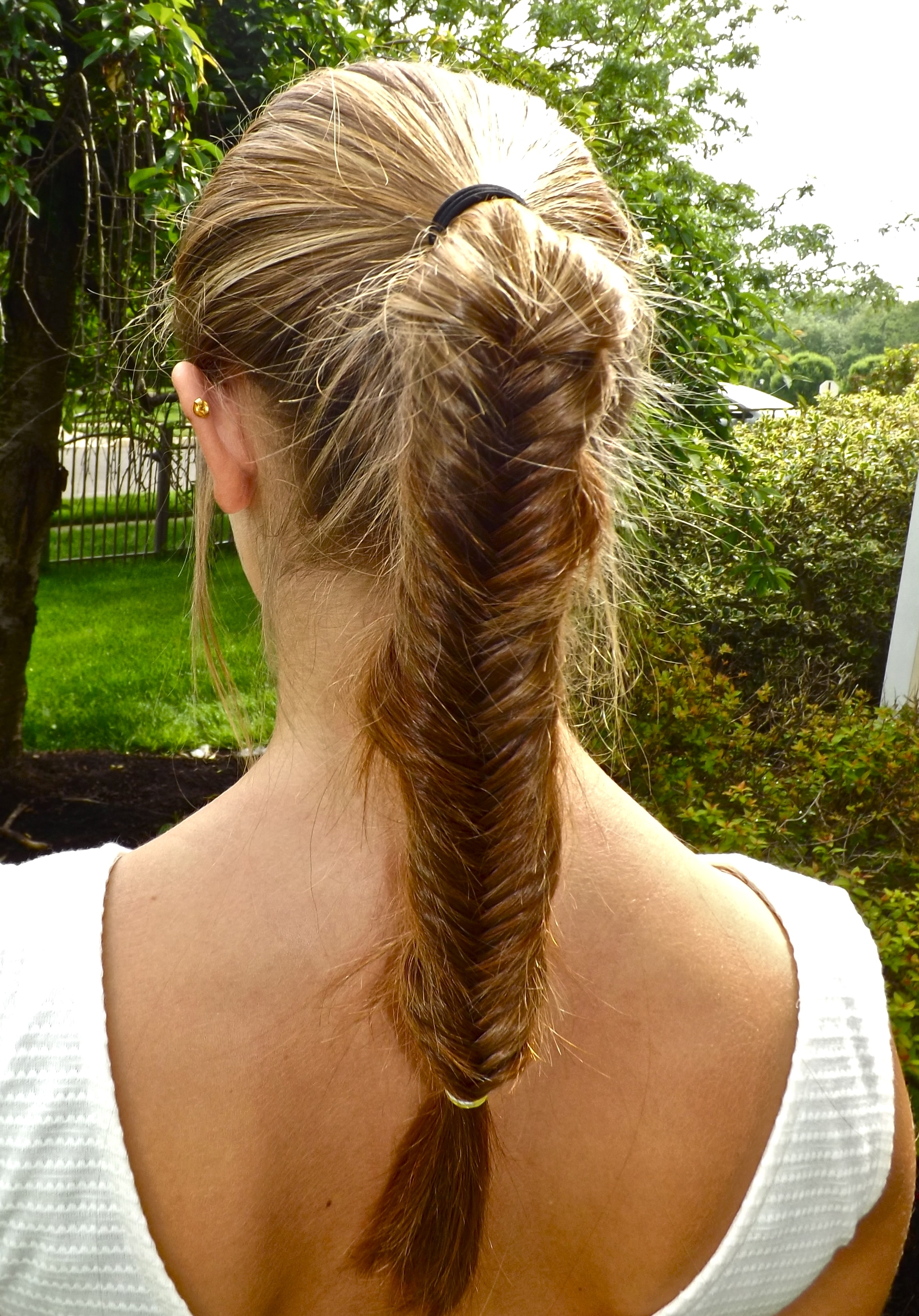 Favorite Fishtail Braid Ponytails For Out With The Old, In With The New: The Fishtail Braid (View 12 of 20)