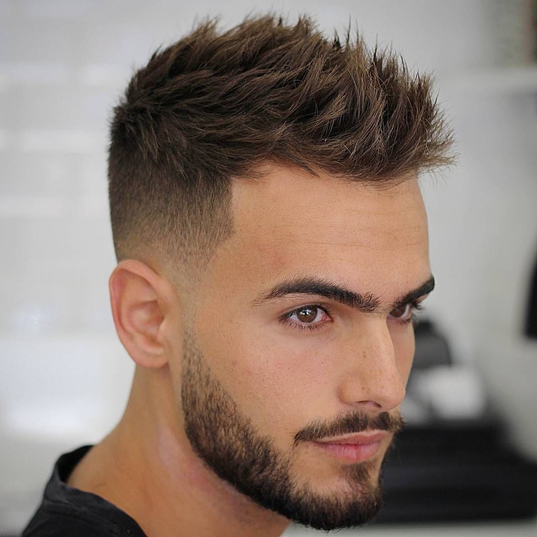 Find Out Full Gallery Of Fresh Swept Mens Hairstyles Pertaining To Short And Simple Hairstyles (View 9 of 20)