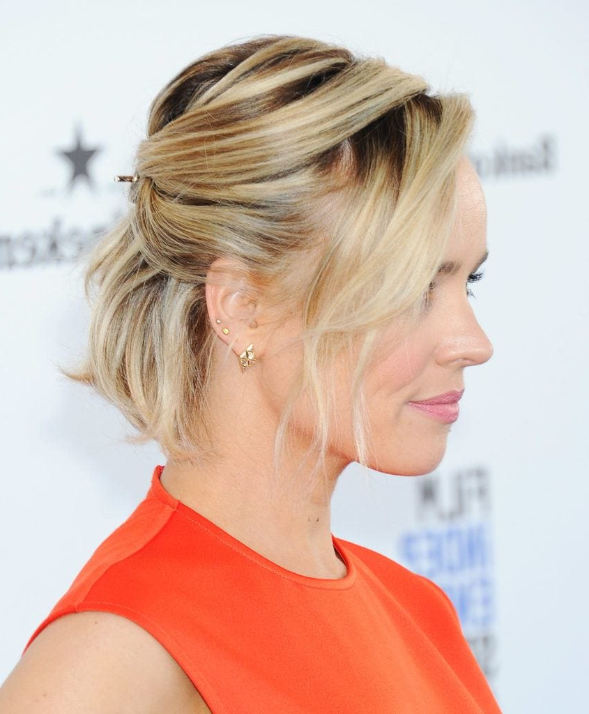 Formal Hairstyles For Short Hair: A List Styles We're Crushing On Intended For Short Formal Hairstyles (View 10 of 20)