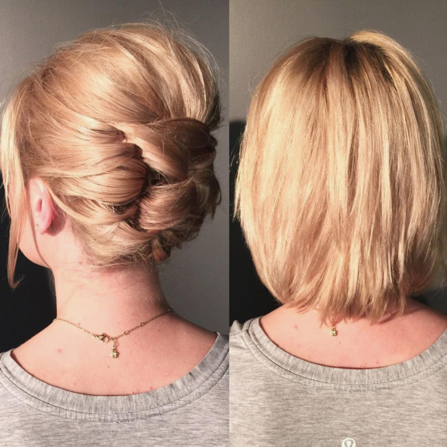 Formal Hairstyles For Short Hair – Leymatson For Short Formal Hairstyles (View 8 of 20)