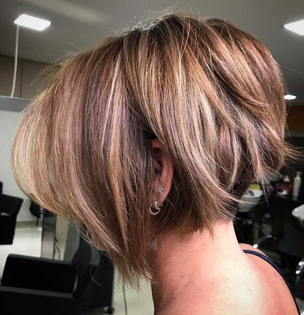 Fresh Short Layered Inverted Bob Hairstyles – Uternity Inside Angled Bob Hairstyles For Thick Tresses (View 16 of 20)
