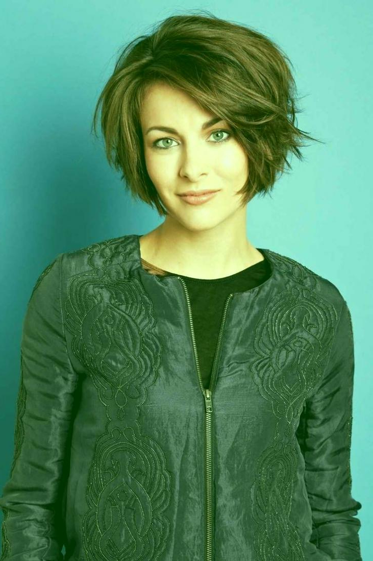 Gorgeous Short Layered Haircuts A Line Bob Short Hairstyles In Butter Blonde A Line Bob Hairstyles (View 16 of 20)