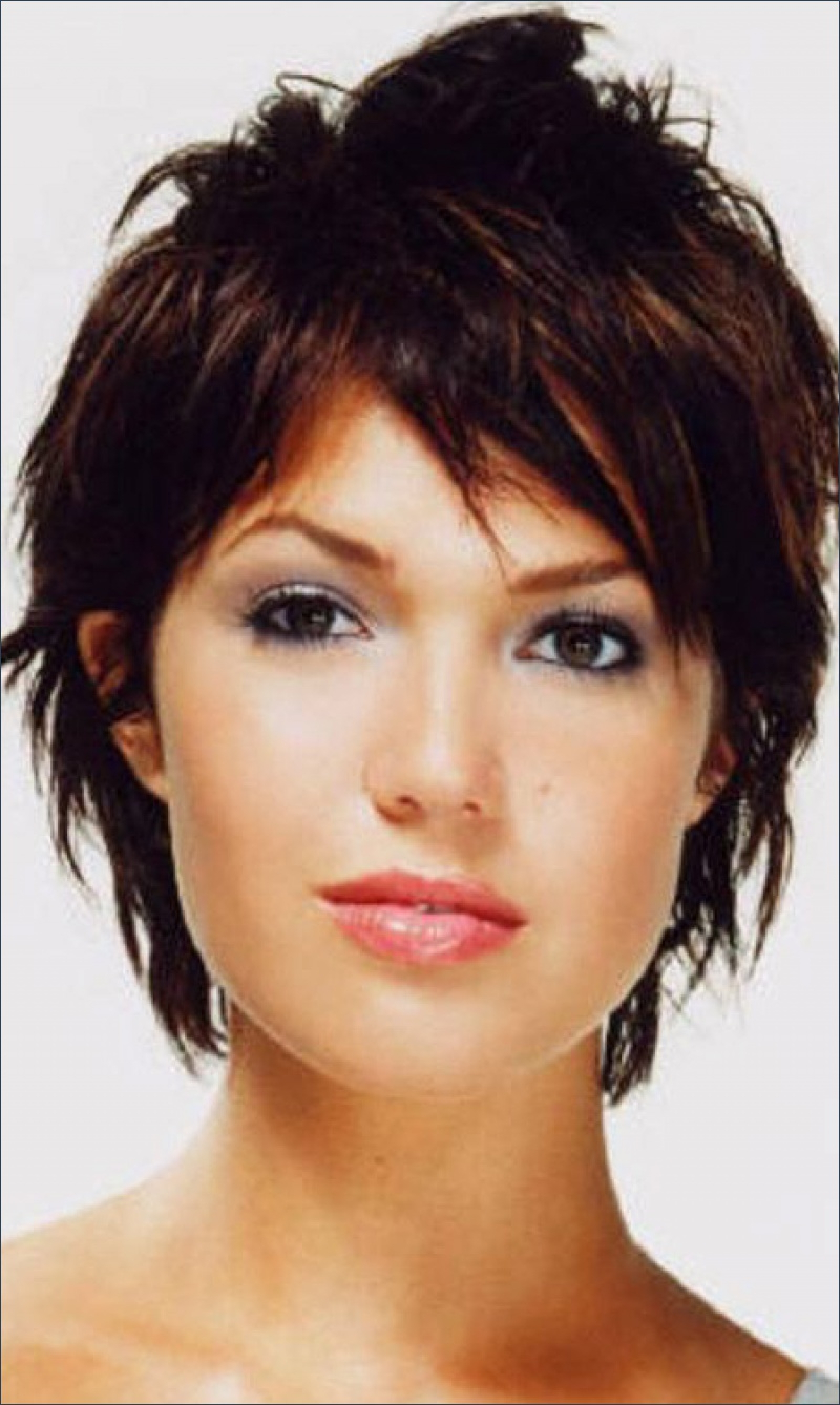 Great Pictures Of Black Short Hairstyles 2013 | Hairstyles Ideas With Shorter Black Messy Hairstyles (Gallery 11 of 20)