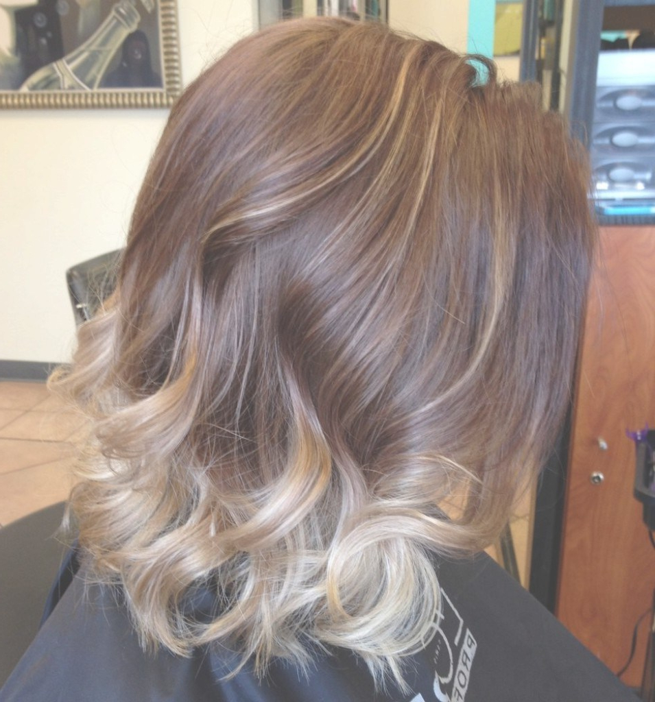 Hair Cuts : Ash Blonde Short Hair Surprising Black To Ombre Dark Intended For Dark Blonde Short Curly Hairstyles (View 16 of 20)