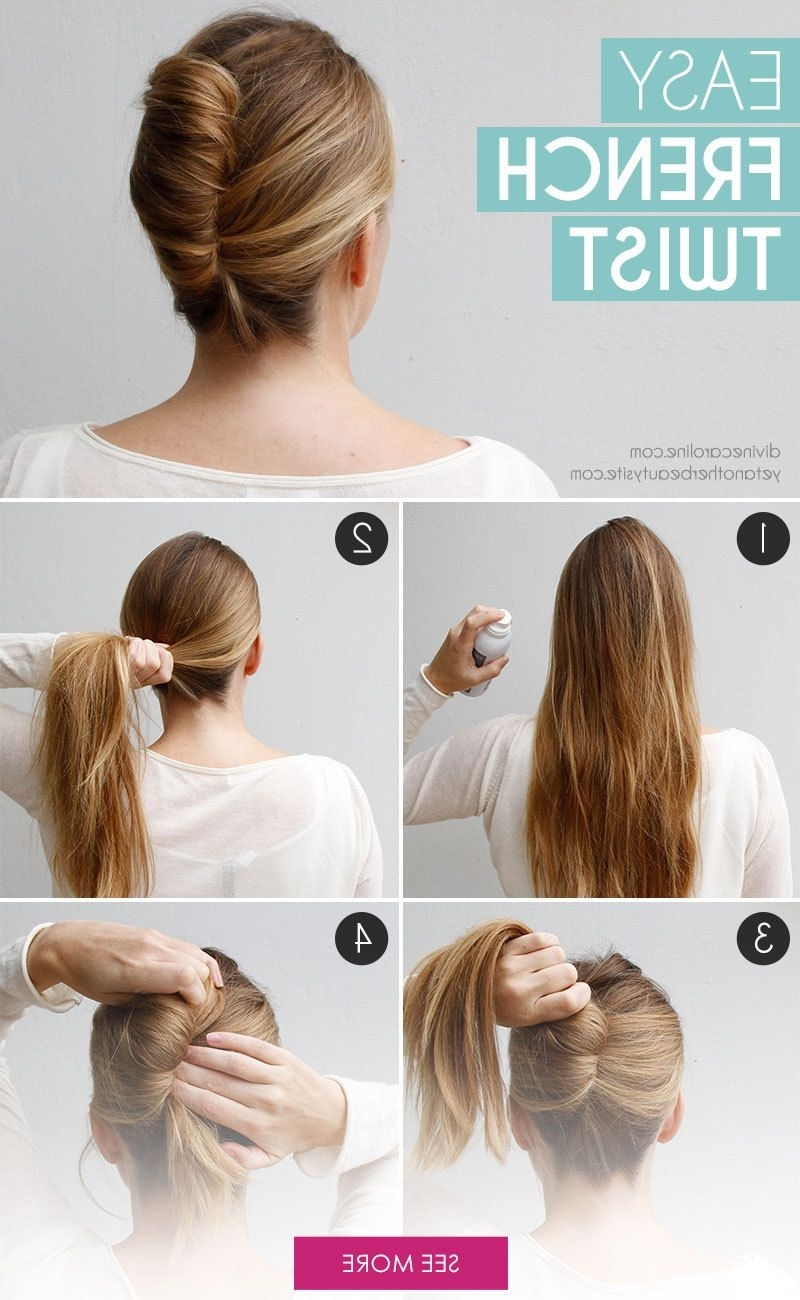 Hair Tutorials In Well Liked Twisted And Pinned Blonde Ponytails (View 7 of 20)
