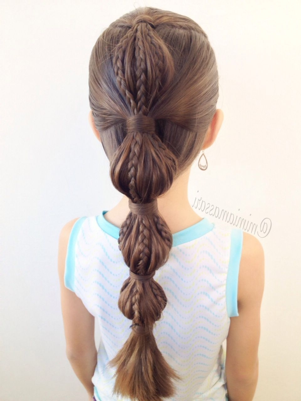 Hair Within Most Popular French Braid Ponytail Hairstyles With Bubbles (View 12 of 20)