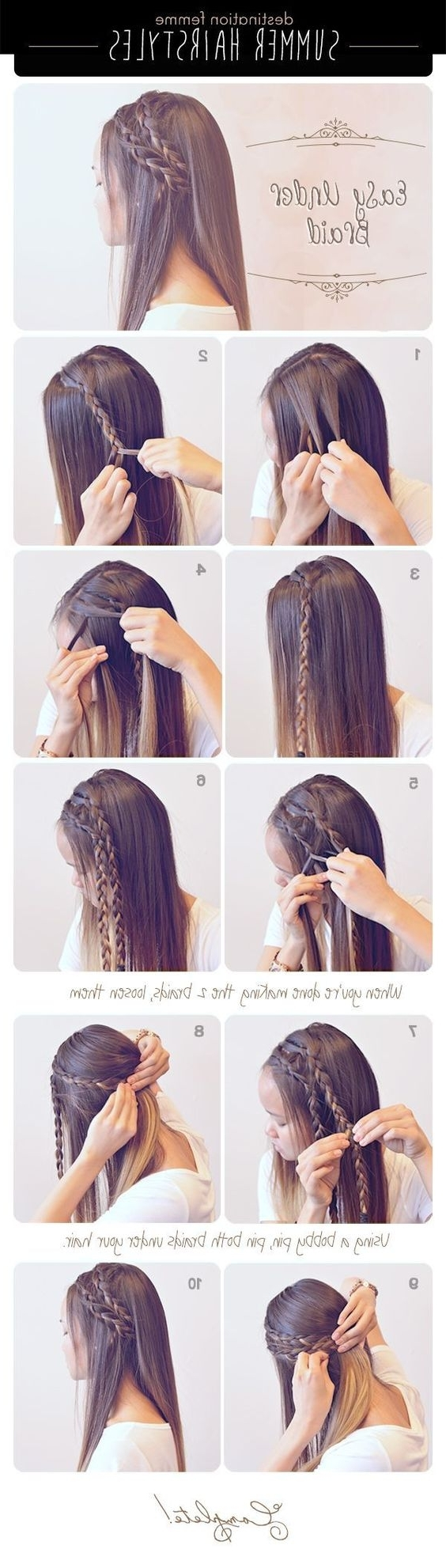Hairstyle Archives – Trubridal Wedding Blog Pertaining To Current Straight Triple Threat Ponytail Hairstyles (View 13 of 20)
