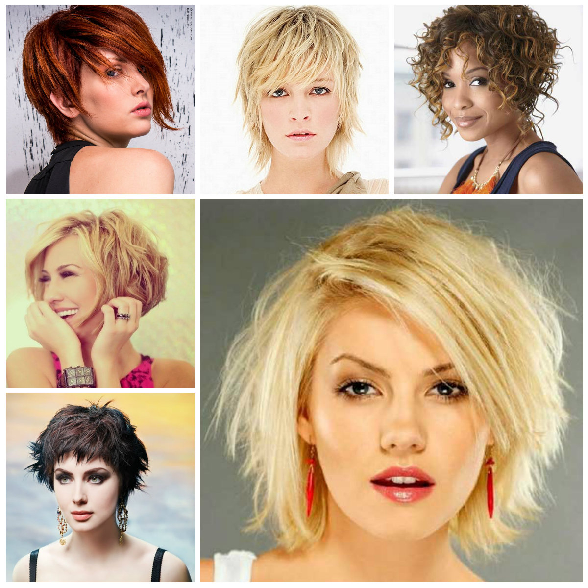 Hairstyles For Women 2019, Haircuts For Long Short And Medium Hair With Shorter Black Messy Hairstyles (View 15 of 20)