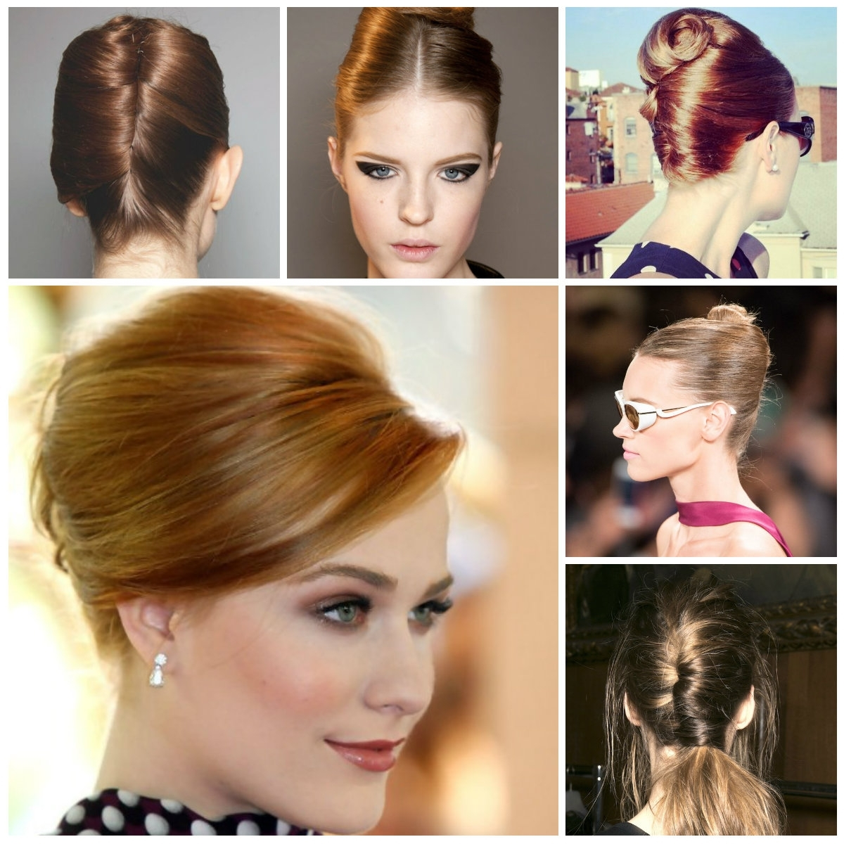 Hairstyles For Women 2019 In Newest Twisted Retro Ponytail Updo Hairstyles (View 9 of 20)