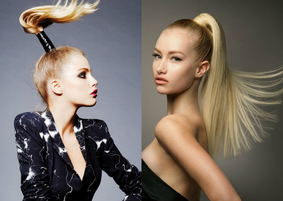 Hairstyles Regarding Well Known Wrapped High Ponytails (View 10 of 20)