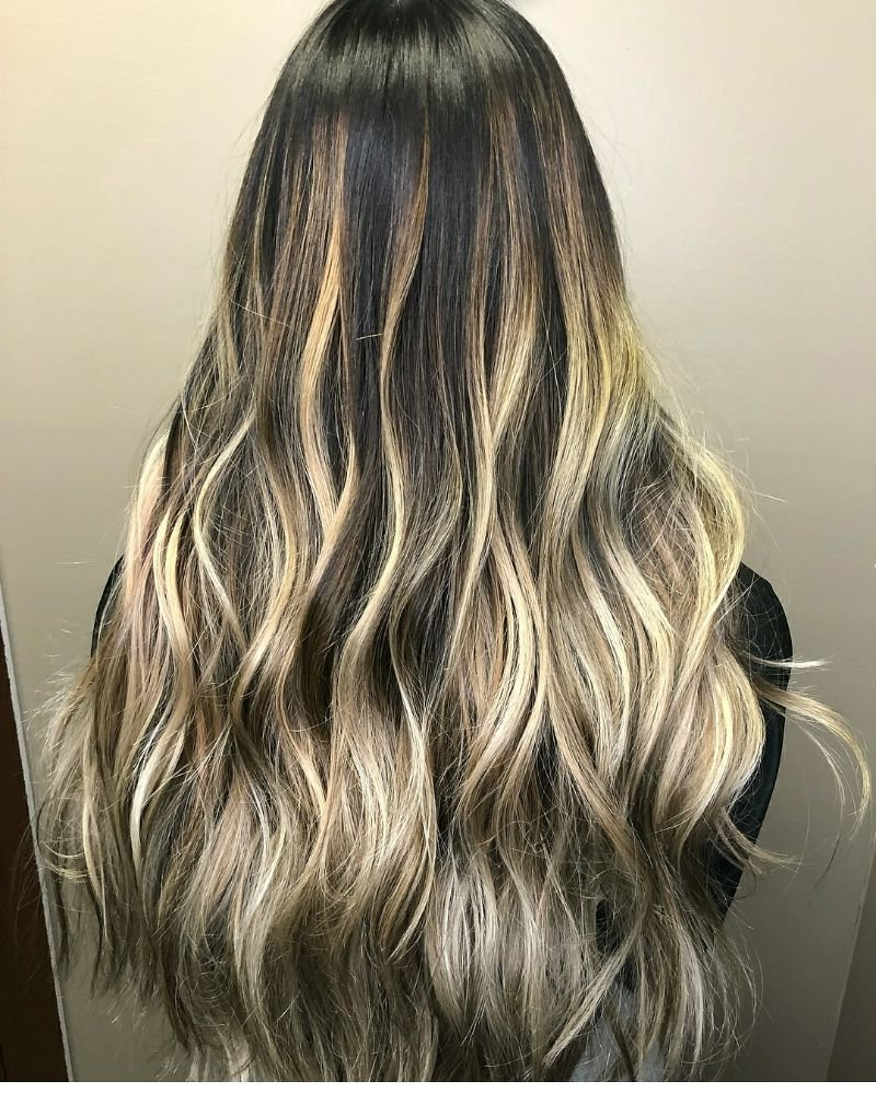 High Contrast Blended Blonde Balayagesiniva – Yelp In High Contrast Blonde Balayage Bob Hairstyles (View 15 of 20)