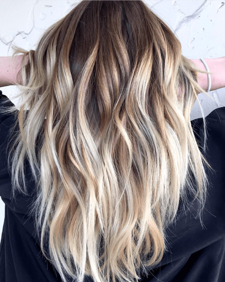 High Contrast Blonde Balayage | Hair | Pinterest | Blonde Balayage Intended For High Contrast Blonde Balayage Bob Hairstyles (View 17 of 20)