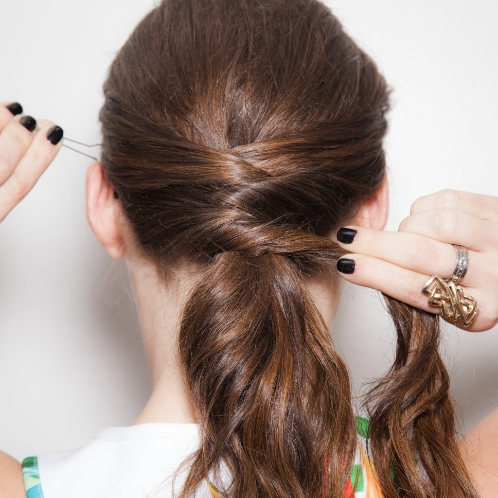 How To Do A Criss Cross Ponytail From Pinterest (View 12 of 20)