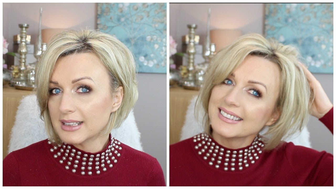 How To Style A Short, Stacked ( Inverted )Bob (2017) – Youtube Pertaining To Short Stacked Bob Blowout Hairstyles (View 14 of 20)
