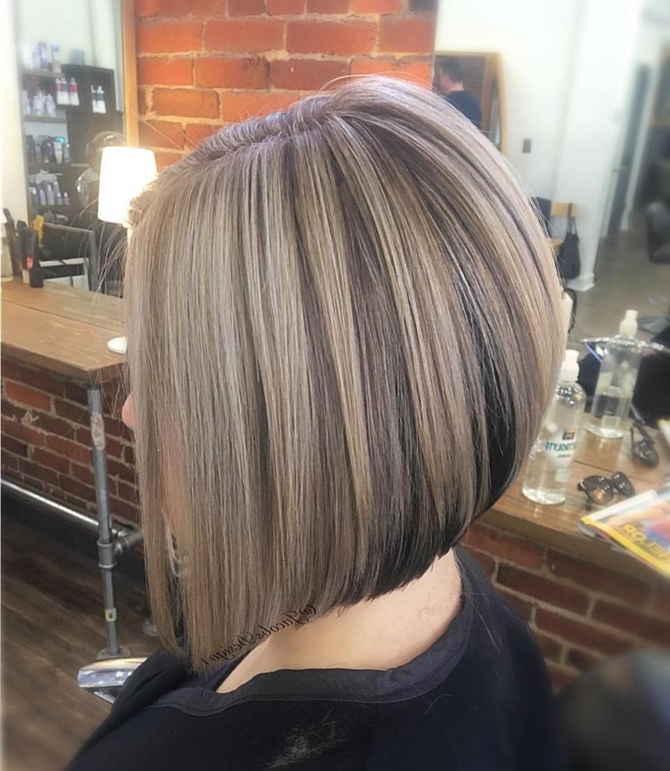 Inverted Bob Haircuts And Hairstyles 2018 | Long, Short, Medium With Regard To Angled Bob Hairstyles (View 9 of 20)