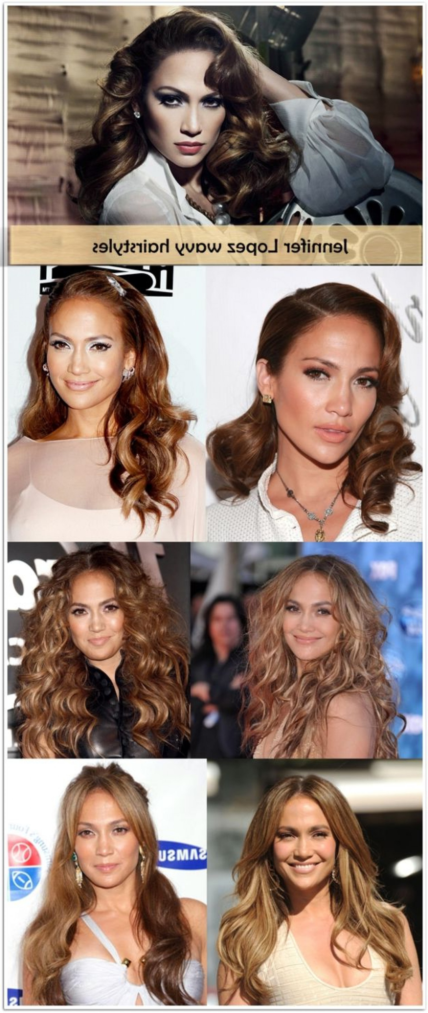 Jennifer Lopez Hairstyles – Long, Short, Wavy, Bun And Curly Intended For Curly Q Haircuts (View 16 of 20)