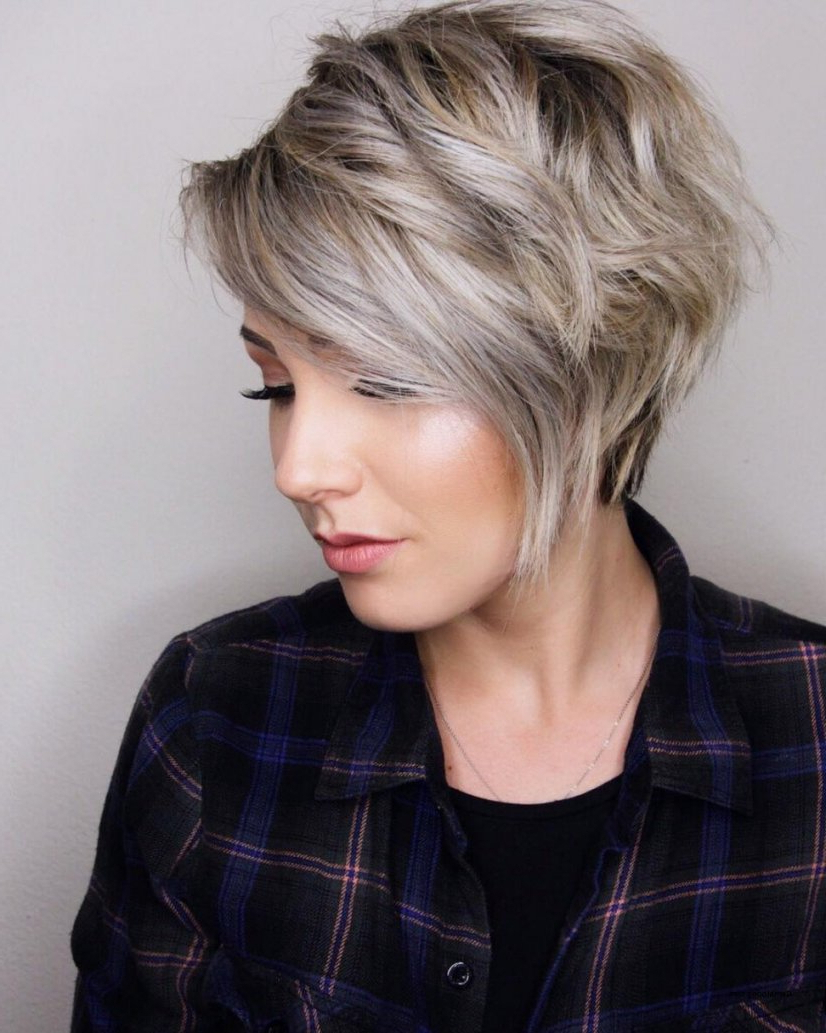 Ladies Short Hairstyles For Thick Hair Uk » Best Hairstyles Inside Straight Pixie Hairstyles For Thick Hair (View 17 of 20)