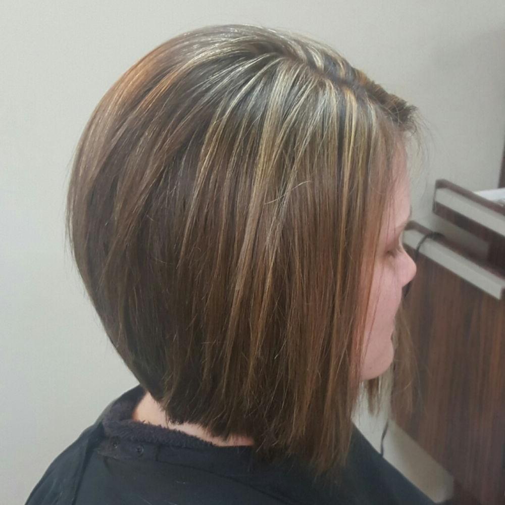 Laini Smith – 123 Photos – Hair Stylists – 26 Glen Ed Professional Regarding Stacked Black Bobhairstyles With Cherry Balayage (View 16 of 20)