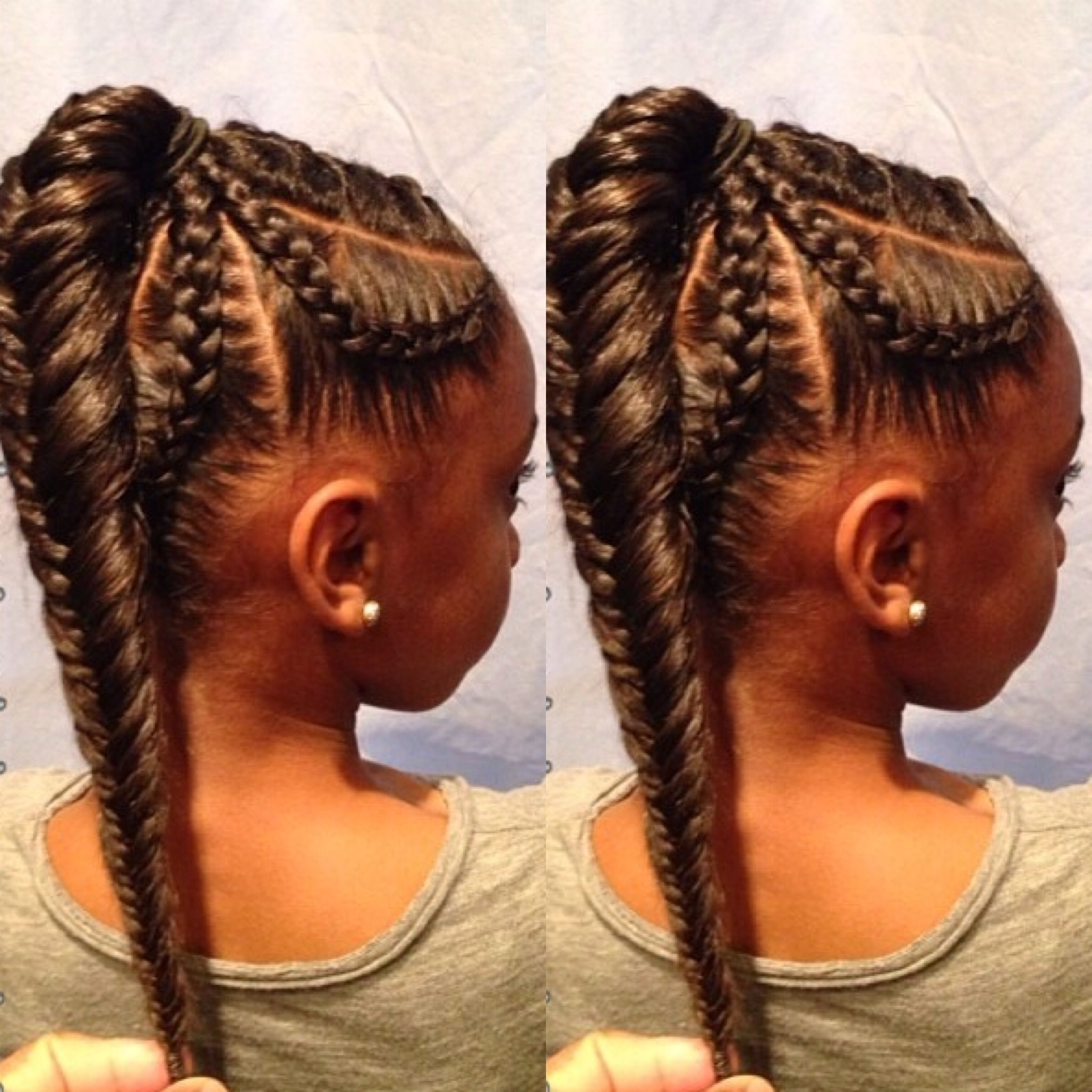 Latest Intricate And Adorable French Braid Ponytail Hairstyles For 70 Best Black Braided Hairstyles That Turn Heads (Gallery 8 of 20)