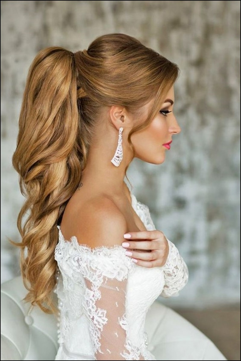 Latest Long Elegant Ponytail Hairstyles With Regard To Ponytail Elegant Hairstyles (View 12 of 20)