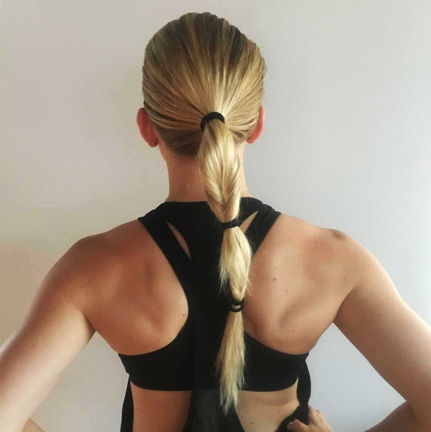 Latest Topsy Tail Low Ponytails With Playful Ponytails To Give Your Workout Hair A Pop – A Sweat Life (View 13 of 20)