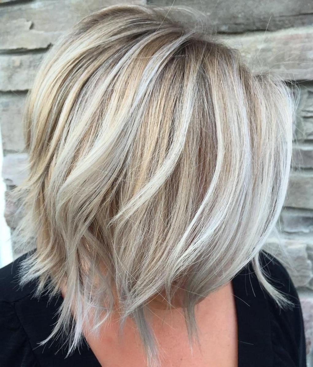 Layered Blonde Balayage Bob | Make Up Tips | Pinterest | Blonde In Layered Balayage Bob Hairstyles (View 17 of 20)