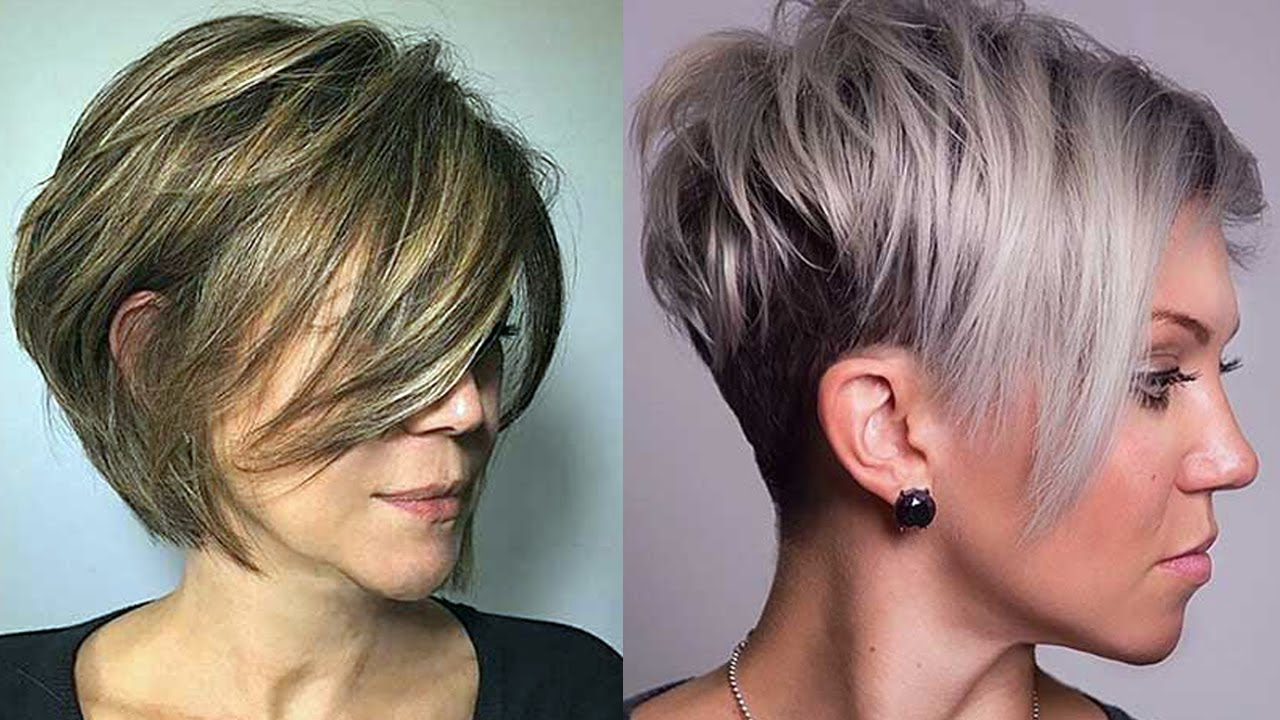 Layered Haircuts For Short Hair 2018 – Short Layered Hairstyles For Pertaining To Short Layered Hairstyles (View 6 of 20)