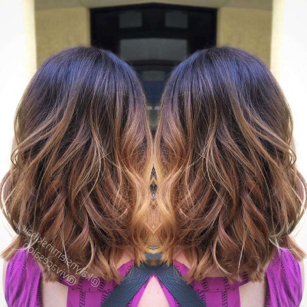 Layered Long Bob And Fresh Balayage | Vivace Salon For Balayage Bob Haircuts With Layers (View 16 of 20)