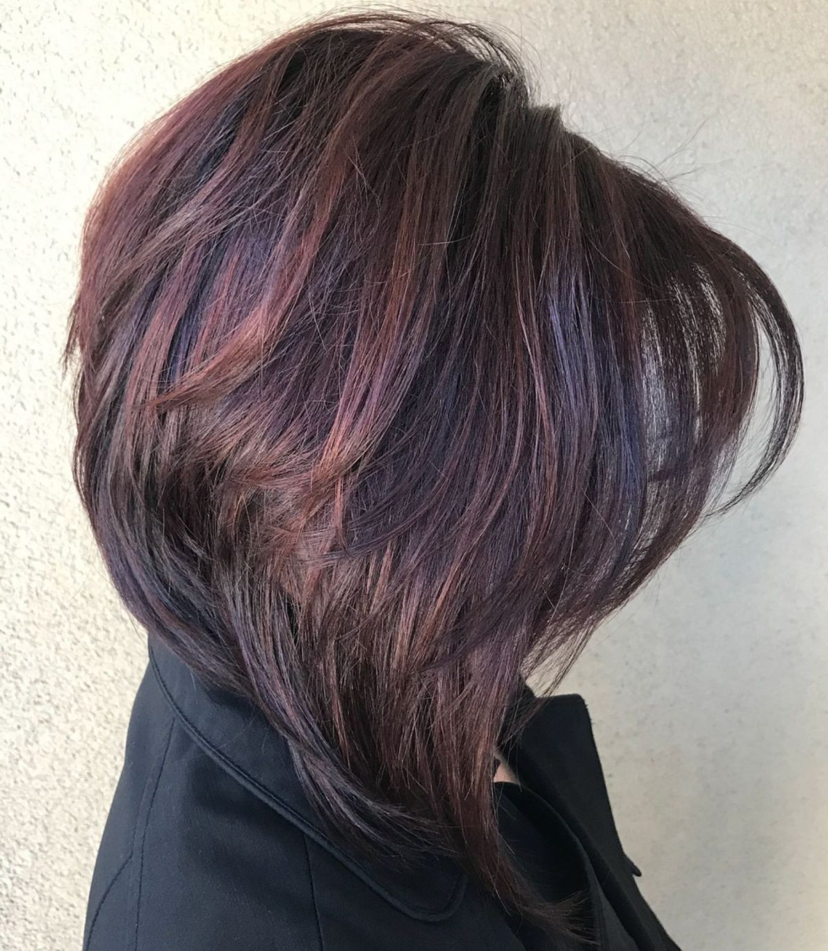 List Of Pinterest Loang Bob Haircut With Layers Thick Hair Brunettes Pertaining To Layered Bob Hairstyles For Thick Hair (View 15 of 20)