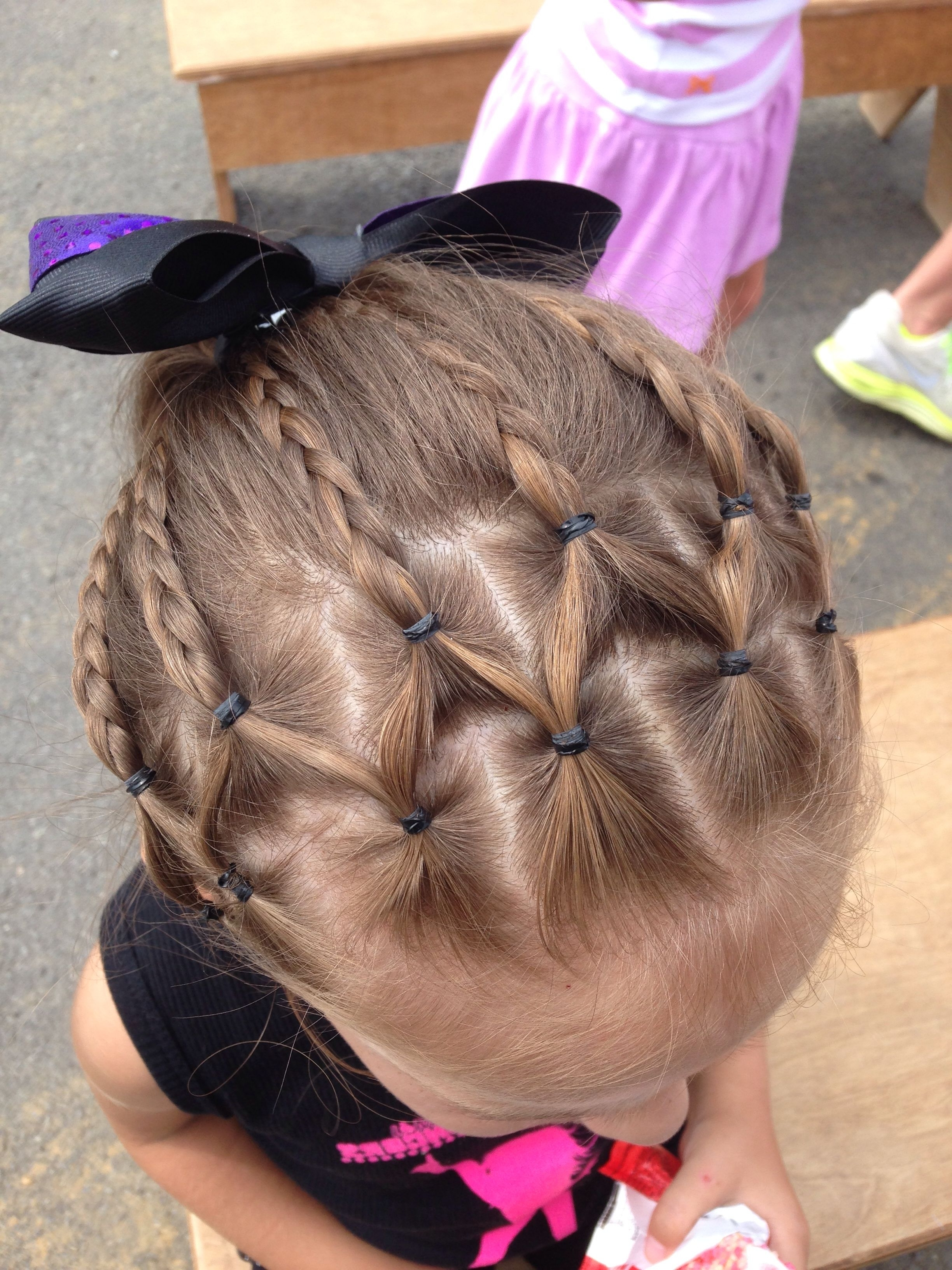 Little Girl Hairstyle – Cute Hair For Dance Recital. (Gallery 12 of 20)