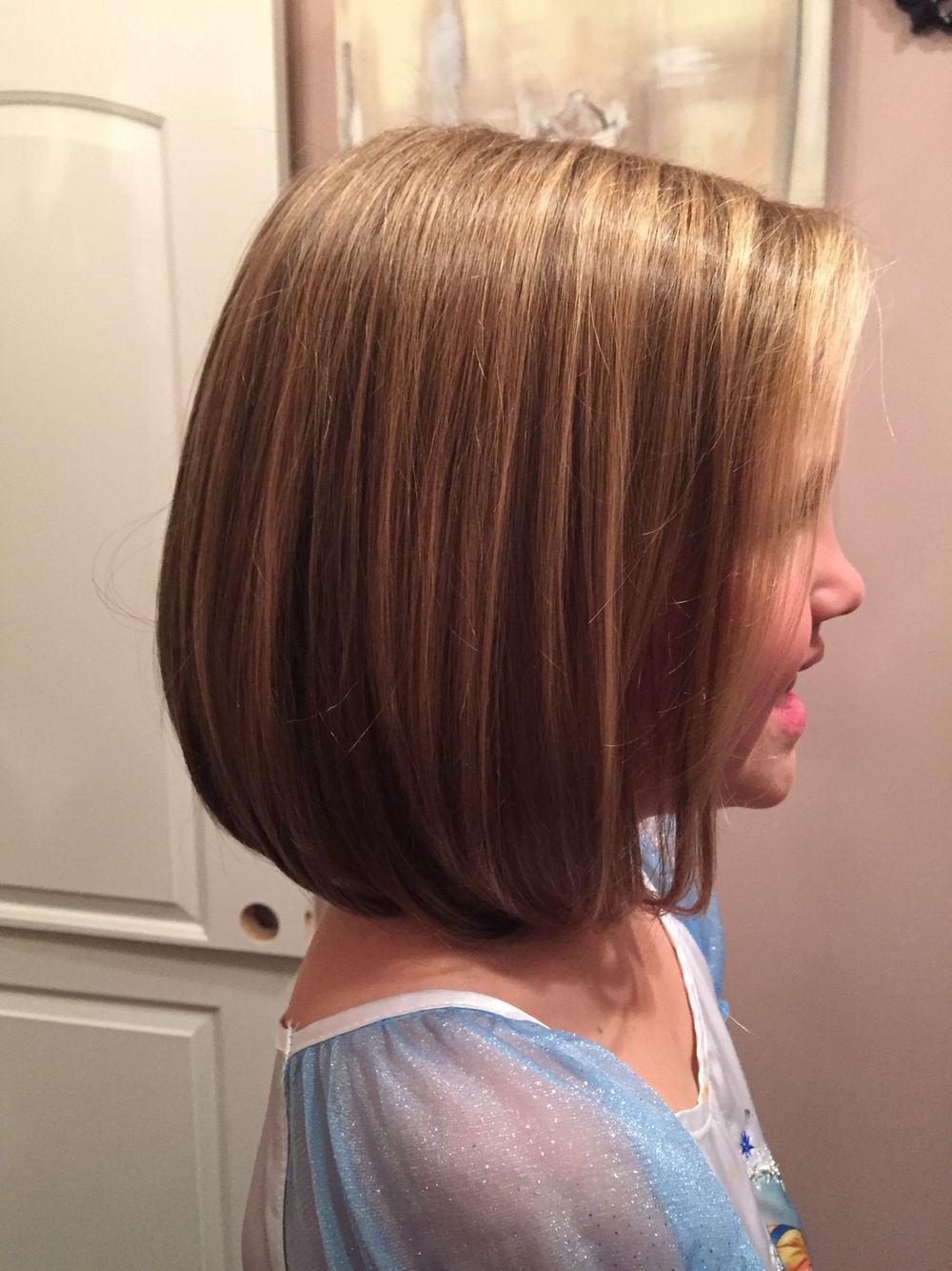 Little Girls Bob Haircut | Hair & Beauty | Pinterest | Girl Haircuts Throughout Stunning Poker Straight Bob Hairstyles (View 15 of 20)