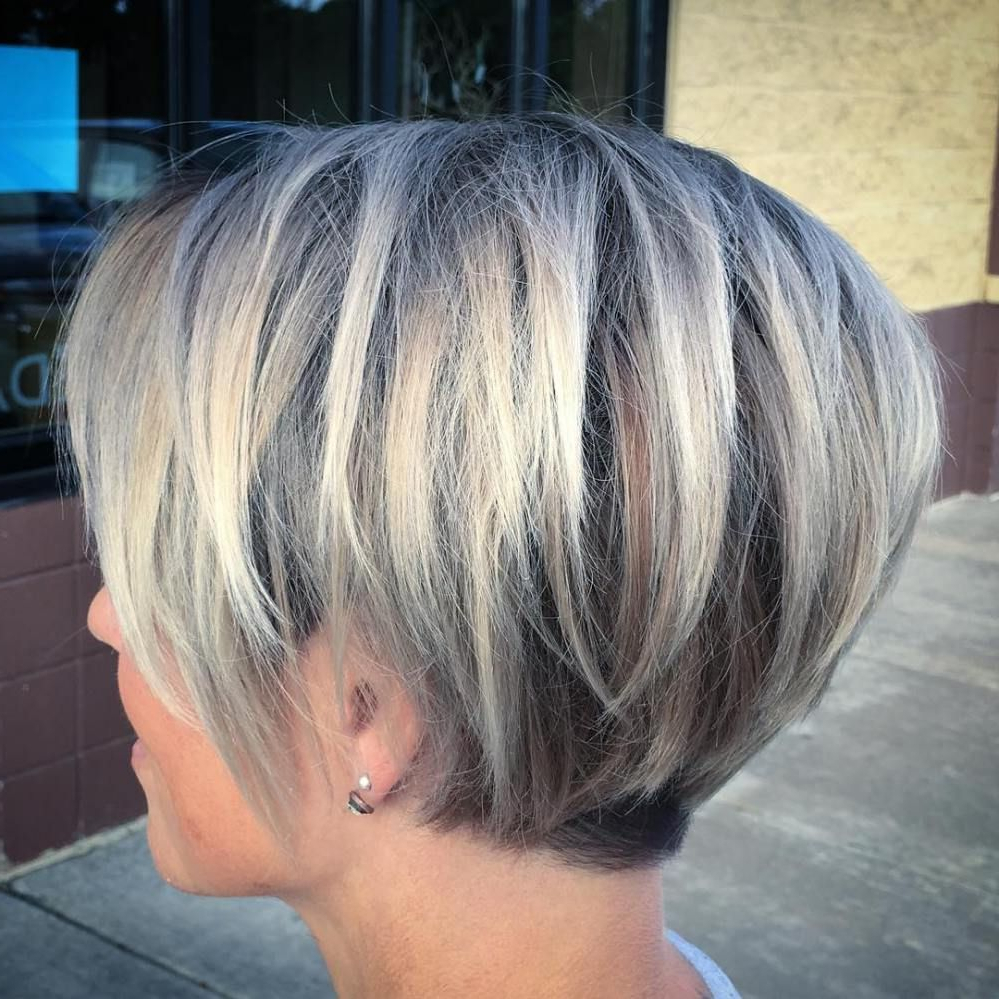 Long Blonde Pixie With Root Fade | Hair And Beauty | Pinterest Throughout Long Blonde Pixie Haircuts With Root Fade (Gallery 2 of 20)
